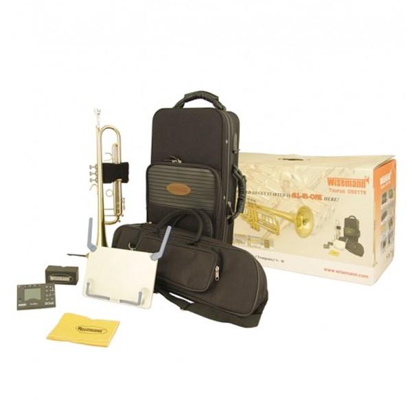Wisemann WI-0901TR Taurus Bb Trumpet Kit