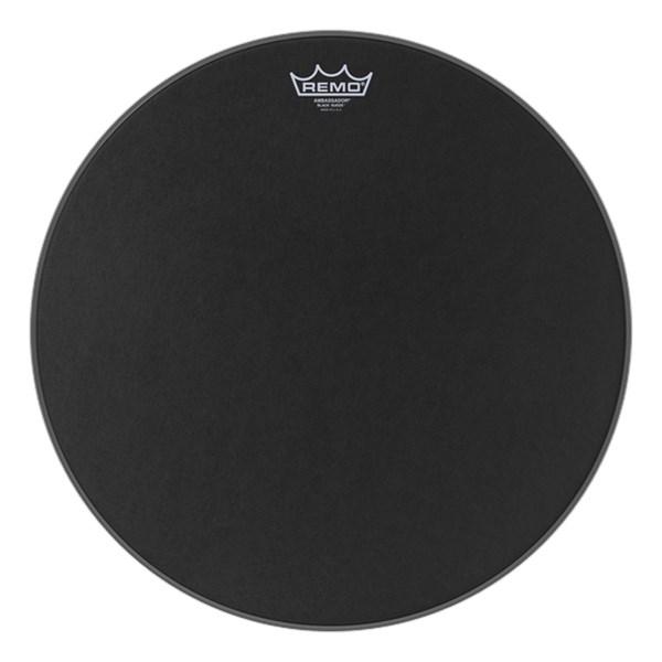 Remo BA-0818-ES 18inch Black Suede Ambassador Batter Drumhead