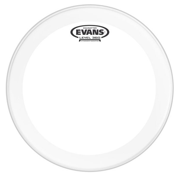 Evans BD20GB3 EQ3 20 Inch Clear Bass Batter Drum Head