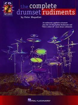 Hal Leonard HL06620016 The Complete Drumset Rudiments Book/CD