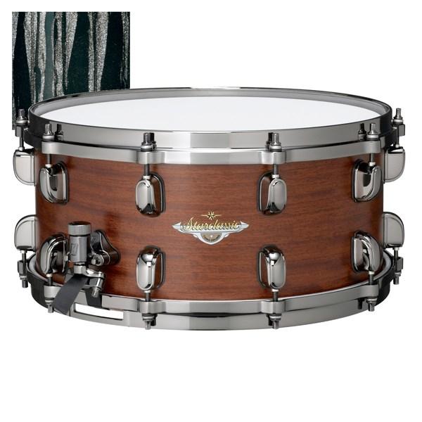 TAMA BGS1465 Starclassic Bubinga 6.5x14 Inch  Snare Drum