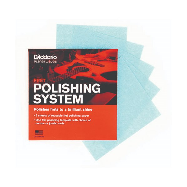 D'Addario Planet Waves PW-FRP Fret Polishing System