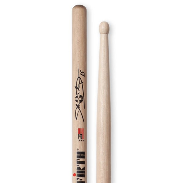 Vic Firth SDOL John Dolmayan Signature Drumsticks - Wood Tip