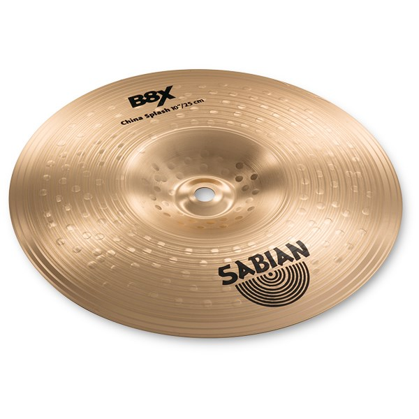 Sabian 41016X 10 Inch B8X China Splash Cymbal