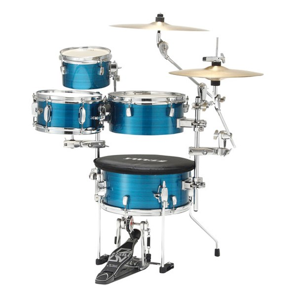 Tama CJP44 Cocktail-JAM Mini Portable 4-Piece Drum Set
