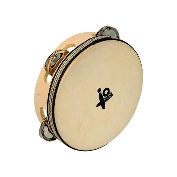 IQ Plus IQ-W024-00 6inch Natural Headed Tambourine