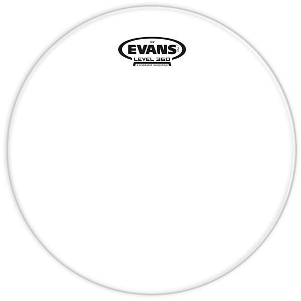 Evans TT13G2 Genera G2 13 Inch Clear Tom Drumhead